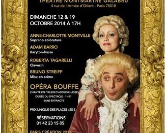 Larinda e vanesio Anonce Theatre Paris